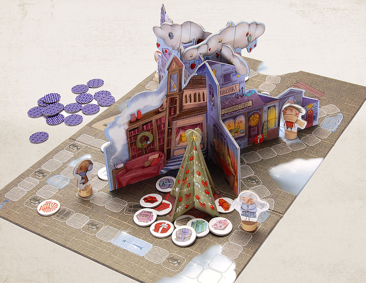 toys board games christmas tale - Christmas Tale